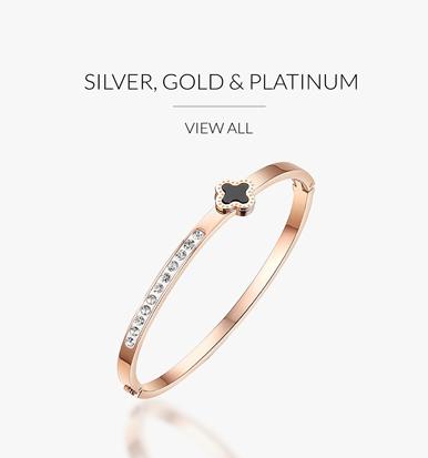Silver, Gold, Platinum Bracelets