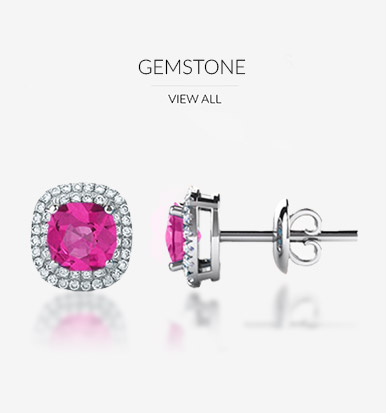 Gemstone earings